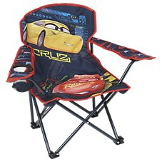 Exxel Outdoors Disney Cars 3 Folding Armchair for Kids