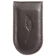 Bob Timberlake Leather Money Clip