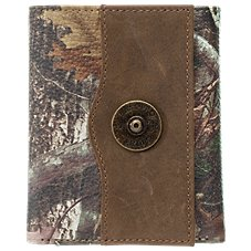 Bass Pro Shops Shotshell Medallion Trifold Wallet