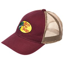 Bass Pro Shops Oval Duk Mesh Back Cap