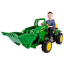 Peg-Pérego John Deere Ground Loader Ride-On Toy for Kids