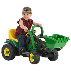 Peg-Pérego John Deere Mini Power Loader Ride-On Toy for Kids