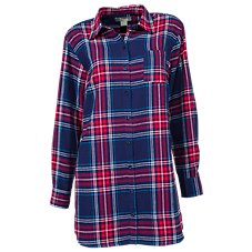 Natural Reflections Flannel Sleep Shirt for Ladies