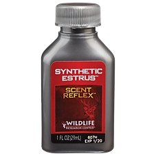 Wildlife Research Center Synthetic Estrus Deer Attractant with Scent Reflex Technology