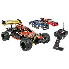 World Tech Toys Triple Threat 3-in-1 Electronic Remote Control Truck