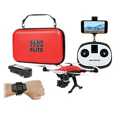 World Tech Toys Elite Recon Follow Me Live View 4K Camera RC Drone with Smart Watch