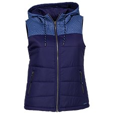 Ascend Quilted Hooded Vest for Ladies