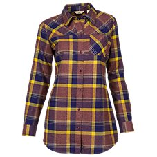 Ascend Flannel Tunic for Ladies