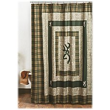 Browning Panel Collection Shower Curtain