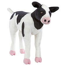Melissa & Doug Lifelike Calf Plush Stuffed Animal