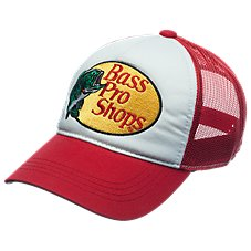 Bass Pro Shops Mesh Logo Trucker Hat for Kids