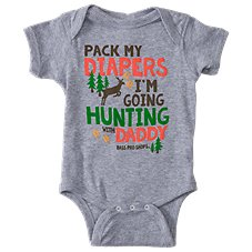Bass Pro Shops Pack My Diapers Bodysuit for Babies