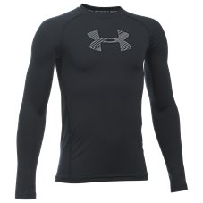 Under Armour HeatGear Long-Sleeve Shirt for Boys