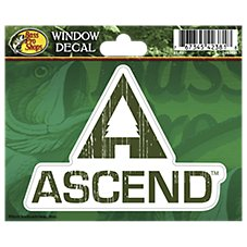 Ascend Die-Cut Vinyl Window Decal
