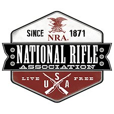 Open Road Brands NRA Since 1871 Die-Cut Embossed Tin Sign