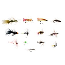 K & E Stopper Lures 13-Piece River Fly Kit