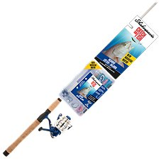 Shakespeare Catch More Fish Inshore Spinning Rod and Reel Combo