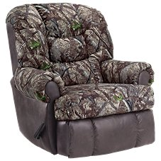 Lane Furniture ComfortKing TrueTimber/Suede Granddaddy Rocker Recliner