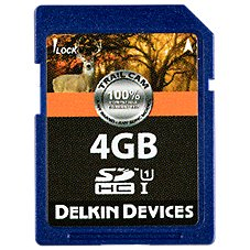 Delkin Devices Trail Cam Class 10 SDHC Card