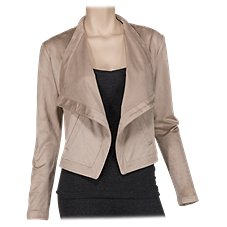 Bob Timberlake Vegan Suede Jacket for Ladies