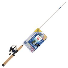 Shakespeare Catch More Fish Spincast Rod and Reel Combo for Lake/Pond Fish