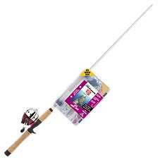 Shakespeare Catch More Fish Ladies Spincast Rod and Reel Combo