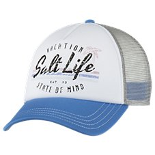Salt Life Vacay State of Mind Trucker Hat for Ladies