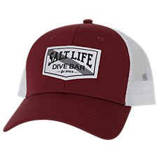 Salt Life Dive Bar Patch Cap