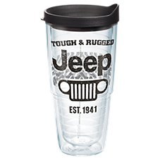Tervis Tumbler Jeep Tough and Rugged Insulated Wrap with Lid