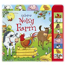 Noisy Farm Board Book for Kids by Jessica Greenwell
