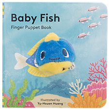 Baby Fish Finger Puppet Book for Kids by Yu-Hsuan Huang