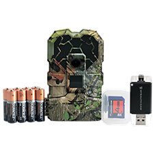 Stealth Cam Trail Hawk NG Game Camera and Triple Connection Card Reader Combo