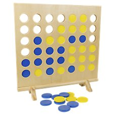 Intex Giant Wooden 4 in a Row Game