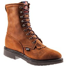 Justin Conductor Work Boots for Men