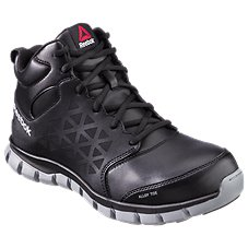 Reebok Sublite Cushion Work Mid Alloy Toe Work Shoes for Men