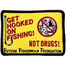 Outdoorsman Fishing Patches - Get Hooked on Fishing