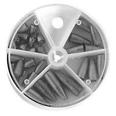 Bass Pro Shops 29-Piece Worm Sinker Assortment