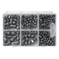 Bass Pro Shops XPS 210-Piece Split Shot Sinker Kit