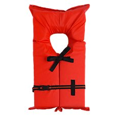 Type II Life Vest for Adult or Youth