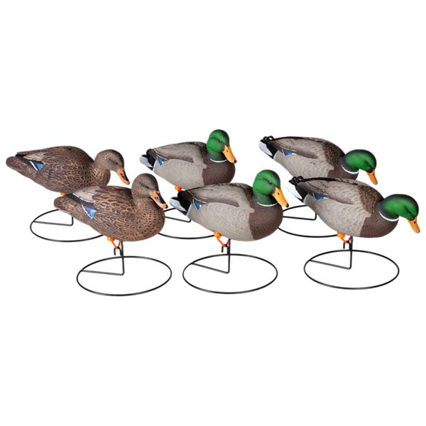 Cabela's Northern Flight Full Body Mallard II Duck Decoys Field Mallard