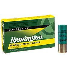 Remington Slugger Rifled Slug Shotshells