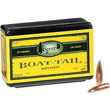 Speer Boat-Tail Rifle Bullets