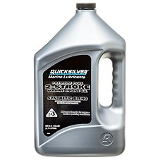 Quicksilver Premium Plus Two-Cycle TC-W3 Outboard Motor Oil