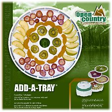 Open Country Add-A-Tray Accessory Pack for Pro Food Dehydrator
