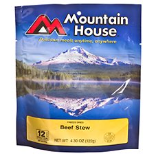 Mountain House Freeze Dried Beef Stew Entree