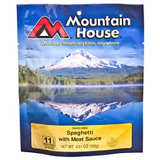 Mountain House Freeze Dried Spaghetti with Meat Sauce Entree