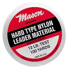 Mason Hard Mono Fishing Line - 100-Yard Spools