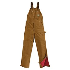 Carhartt Insulated Duck Bib Overalls for Men