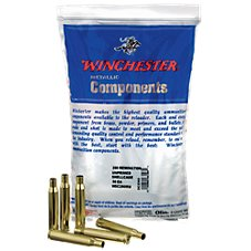 Winchester Bulk Brass Unprimed Rifle Shellcase Metallic Components for Rifles