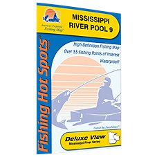 Fishing Hot Spots Freshwater Lake and River Fishing Map